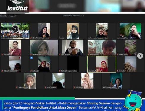 Sharing Session Pendidikan Bersama Siswa/i MA Al-Khairiyah Jakarta