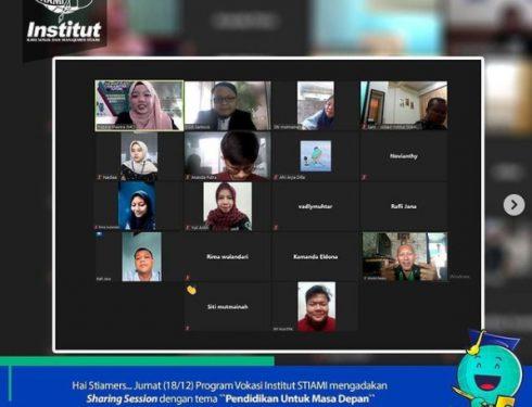 Sharing Session Pendidikan Bersama Siswa/i SMK TRI AGRA Jakarta